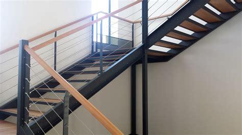 garde corps inox cable escalier garde corps avec cable inox metallerie martin