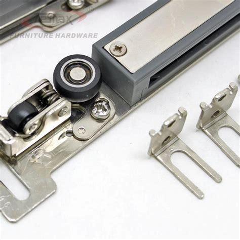 cabinet closet sliding door system hardware set der
