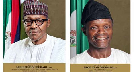 organisation bureau windows president buhari vice president osinbajo declare assets