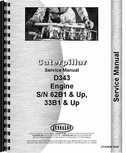 Caterpillar D343 Engine Service Manual