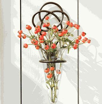 for indoor walls iron knot w glass wall vase where my is