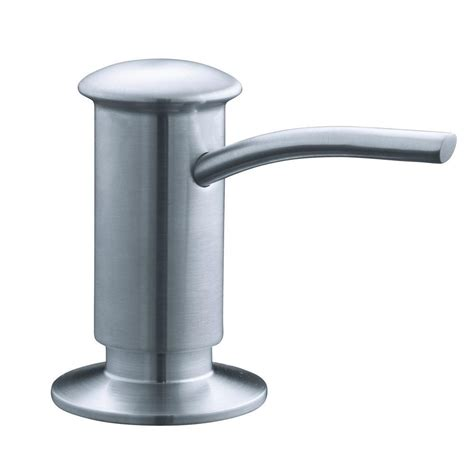 Countertop Mounted Soap Dispenser - contemporary countertop mount brass soap and lotion