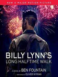 Billy Lynn's Long Halftime Walk by Ben Fountain ...