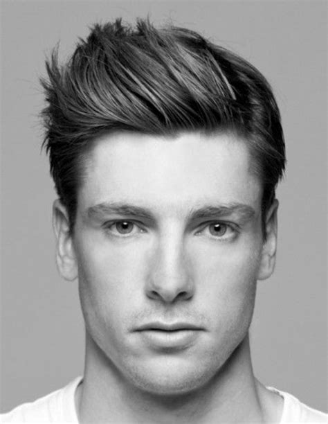 spiky hairstyles  men bold  classic haircut