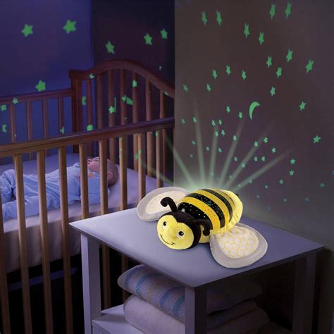 baby musical cot mobile light projector nursery