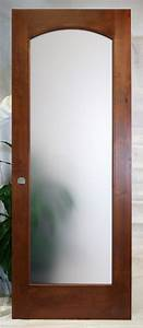 Interior french doors with frosted glass for Frosted glass interior door