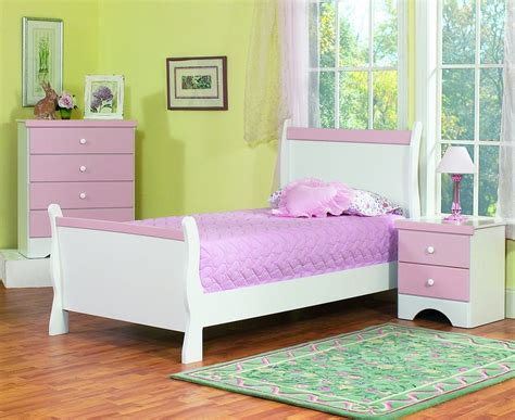 Purple And White Furniture Sets Kids Bedroom Design-home