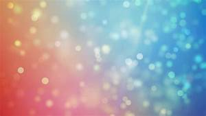 Blue, Blurred, Bokeh Lights Background. Abstract Sparkles ...