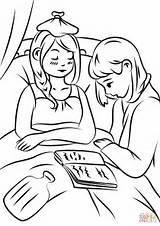 Sick Coloring Helping Colorear Dibujos Dibujo Person Ayudando Enfermos Imprimir Kolorowanka sketch template
