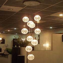 Mason Jar Ceiling Light by Modern Large Long Stair E14 Round Ball Chandeliers 10