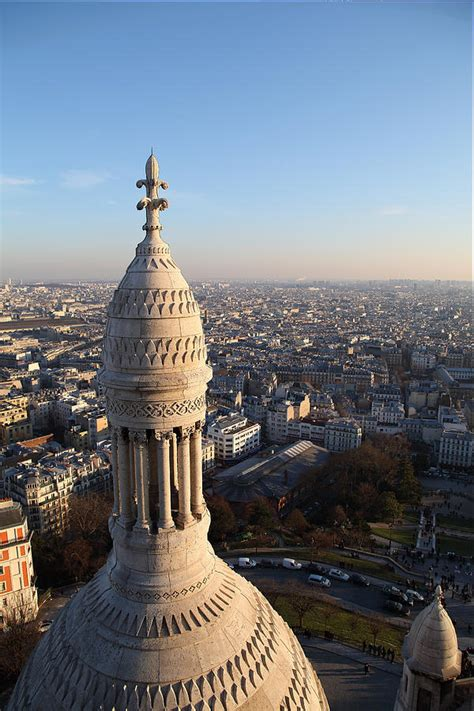 View From Basilica Of The Sacred Heart Of Paris Sacre