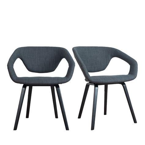 fauteuil design bois et tissu flex back black zuiver