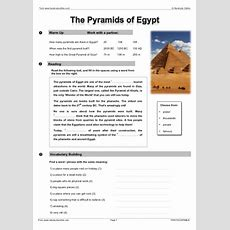 Intermediate Level Esl Efl Worksheets, Activities And Lesson Plans For English Teachers