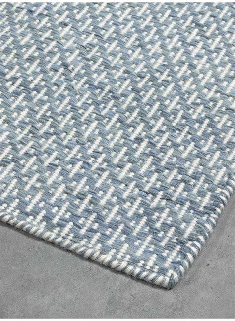 tapis salon micmac bleu clair
