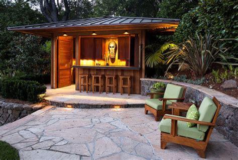 Moderne Gartengestaltung Mit Holz by Moderne Gartengestaltung Mit Terrasse Und Gartenbar Aus