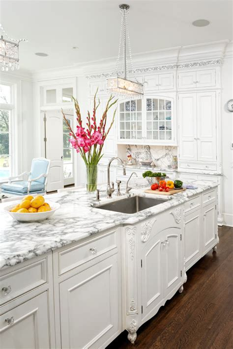 Dream Kitchen  Cook Up A Storm In These 7 Glamorous. French Provincial Dining Room Furniture. Pinterest Room Design. Reclaimed Wood Dining Room Table. Black Rooms Interior Design. Wall Art For Powder Room. Elegant Dining Room Chairs. Dining Room Bench. Dining Room Table Top
