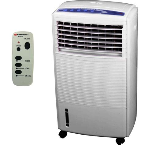 portable air cooler humidifier swamp fan evaporative