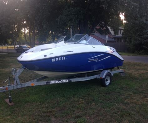 Sea Doo Boats For Sale In Ma by 2010 Sea Doo 180 Challenger Power Boat For Sale In