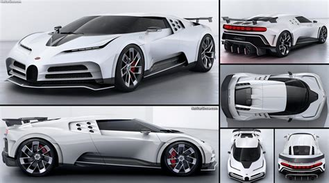 Reminiscence to an icon of art. Bugatti Centodieci (2020) - pictures, information & specs