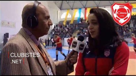 سيدات النادي الإفريقي يهدين بطولة العرب لحمادي بوصبيع Youtube