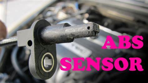 honda abs sensor replacement youtube
