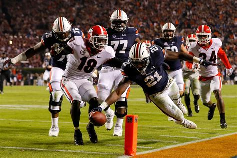 Creator Uga by Auburn Beats No 1 Becoming College Football S