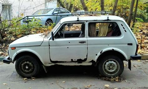 Avtozilla Lada Niva With Curtains