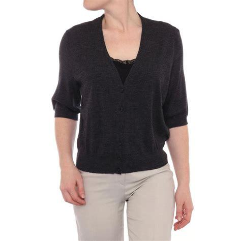 sweater shorts lafayette 148 york sleeve v neck cardigan