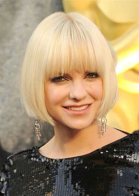 awesome bob haircuts  bangs