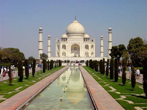 Taj Mahal In Agra India Full Desktop Backgrounds