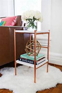 Never Dull Messing : copper pipe side table diy a beautiful mess ~ Kayakingforconservation.com Haus und Dekorationen