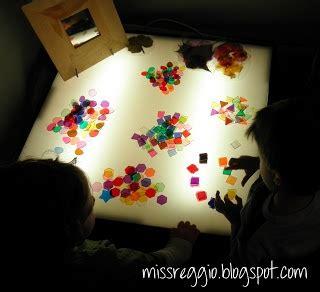 reggio emilia light table 1000 images about exploring light shadow reggio on