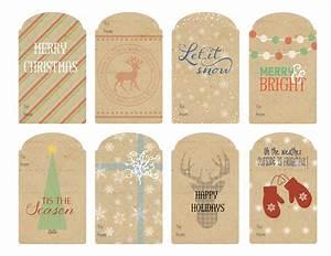 Vintage Christmas Gift Tags 2014 | WallQuotes.com