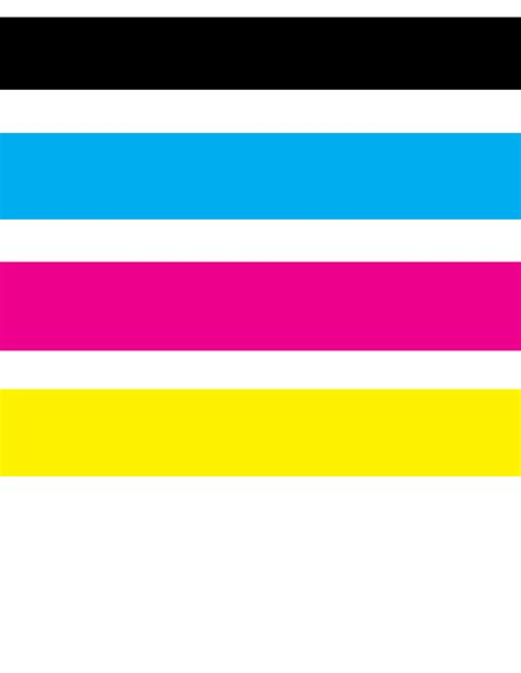 Color Test Page Laser Printer