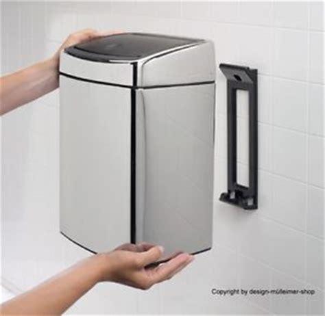 Design Bathroom Trash Can waste bin brabantia touch bin 10 dust bin rubbish bin