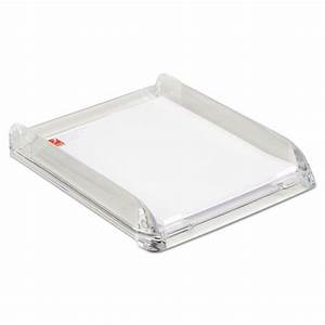 stratus acrylic document tray letter clear With clear acrylic letter tray