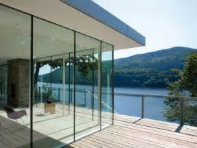fresh bathroom ideas modern german house clad in glass offers unabated lake views