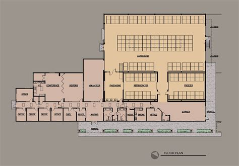 floor plans home depot the food depot allegretti architects santa fe new mexico