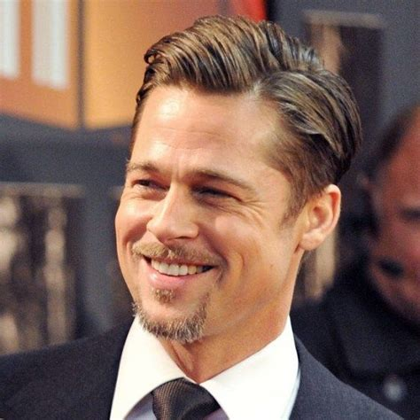 brad pitt hairstyles evolution images  pinterest