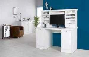 Schreibtisch Vintage Weiß : schreibtisch aufsatz b rotisch b rom bel landhausstil wei ~ Lateststills.com Haus und Dekorationen