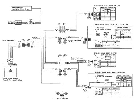 91 240sx Fuel Wiring Diagram by Wiring Diagrams For Trucks Http Www Automanualparts
