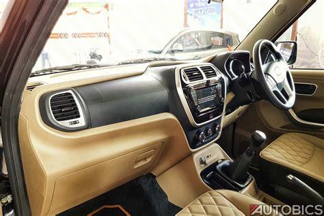 mahindra tuv  interior autobics