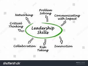 Diagram Leadership Skills Stock Illustration 331056944