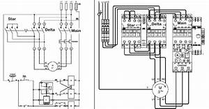 star delta starter line diagram and its working principle With motor wiring diagram furthermore star delta starter wiring diagram
