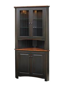 kitchen collection store locations shaker corner cabinet peaceful valley amish furniture