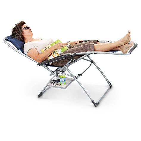 mac sports 174 anti gravity chair with side table 581485