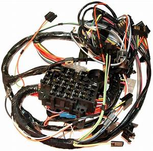 1979 Corvette Wiring Harness  Main Dash  Without Either Power Windows Or Power Door Locks
