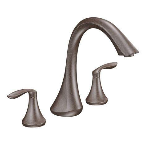moen eva  handle deck mount roman tub faucet trim kit