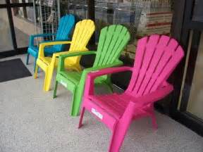 plastic adirondack chairs for your home