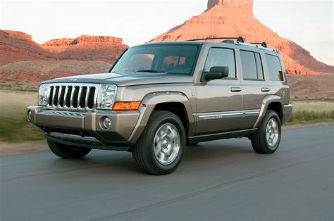 commander jeep 2006 jeep commander reviews and rating motor trend